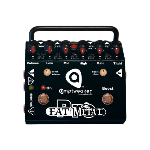 Amptweaker Fat Metal Pro Distortion Guitar Effects Pedal , Pedals, Amptweaker, Texas Guitar Ranch - Texas Guitar Ranch