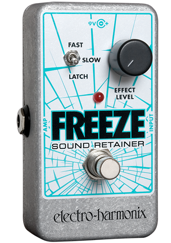 Electro-Harmonix Freeze Sound Retainer Infinite Sustain EHX Guitar Effects Pedal , Pedals, Electro-Harmonix, Texas Guitar Ranch - Texas Guitar Ranch
