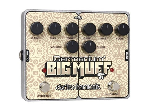 Electro-Harmonix Germanium 4 Big Muff Pi Distortion Overdrive EHX Guitar Effects Pedal , Pedals, Electro-Harmonix, Texas Guitar Ranch - Texas Guitar Ranch