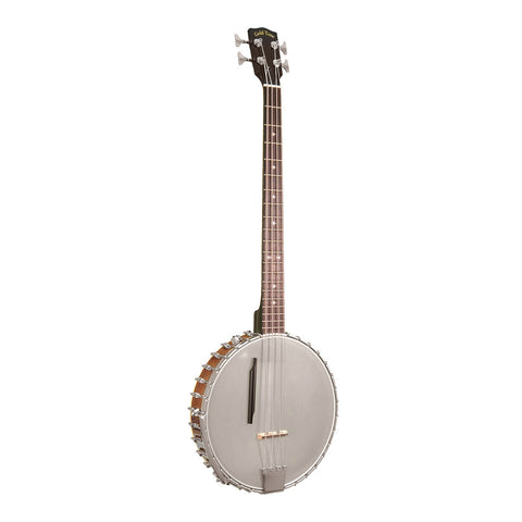 Gold Tone BB-400+ Left-Handed Banjo Bass with Pickup and Case , Folk, Gold Tone, Texas Guitar Ranch - Texas Guitar Ranch