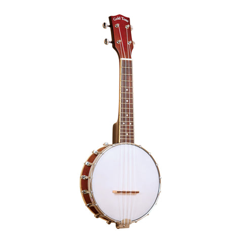Gold Tone BUS Soprano-Scale Banjo Ukulele with Case , Folk, Gold Tone, Texas Guitar Ranch - Texas Guitar Ranch