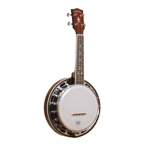 Gold Tone Banjolele-DLX Concert-Scale Banjo Ukulele Deluxe , Folk, Gold Tone, Texas Guitar Ranch - Texas Guitar Ranch