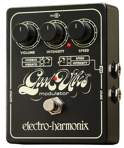 Electro-Harmonix Good Vibes Analog Modulator Vibrato Chorus EHX Guitar Effects Pedal , Pedals, Electro-Harmonix, Texas Guitar Ranch - Texas Guitar Ranch