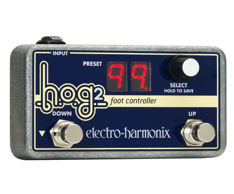 Electro-Harmonix HOG2 Foot Controller Footswitch EHX Guitar Effects Pedal , Pedals, Electro-Harmonix, Texas Guitar Ranch - Texas Guitar Ranch