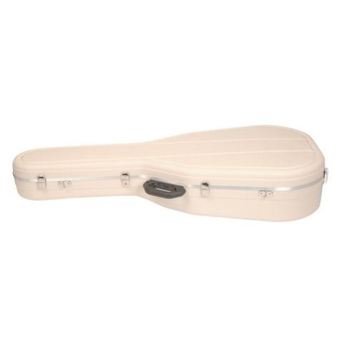 Hiscox Cases Acoustic Guitar Case Dreadnght Ivory Shell - Silver Interior - Pro II , Accessories, Hiscox Cases, Texas Guitar Ranch - Texas Guitar Ranch