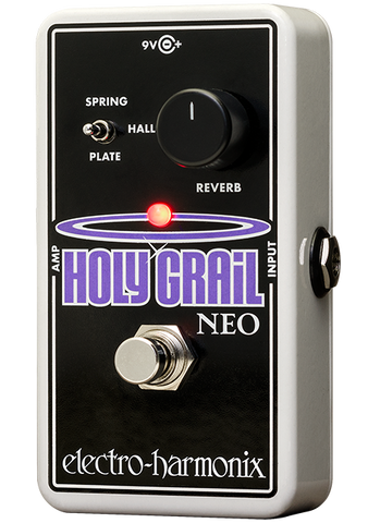 Electro-Harmonix Holy Grail Neo Reverb EHX Guitar Effects Pedal , Pedals, Electro-Harmonix, Texas Guitar Ranch - Texas Guitar Ranch