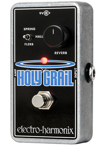 Electro-Harmonix Holy Grail Reverb EHX Guitar Effects Pedal , Pedals, Electro-Harmonix, Texas Guitar Ranch - Texas Guitar Ranch