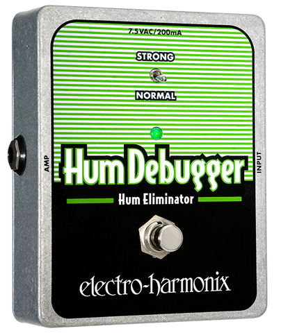 Electro-Harmonix Hum Debugger Hum Eliminator EHX Guitar Effects Pedal , Pedals, Electro-Harmonix, Texas Guitar Ranch - Texas Guitar Ranch