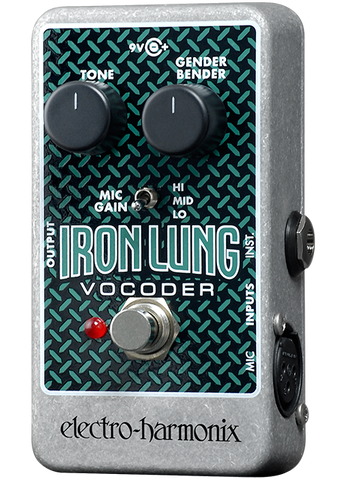 Electro-Harmonix Iron Lung Vocoder Vocal Effects EHX Guitar Effects Pedal