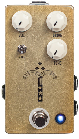 JHS Morning Glory Transparent Overdrive Guitar Effects Pedal , Pedals, JHS, Texas Guitar Ranch - Texas Guitar Ranch