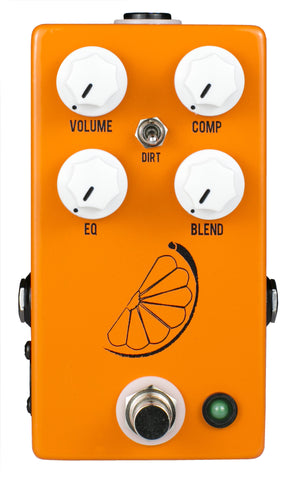 JHS Pulp 'N' Peel V4 Compressor Preamp Guitar Effects Pedal , Pedals, JHS, Texas Guitar Ranch - Texas Guitar Ranch