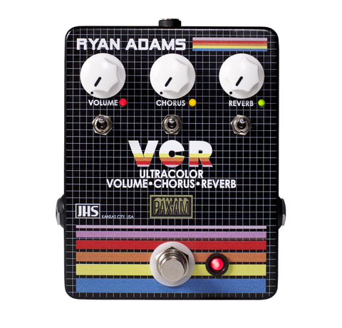 JHS The VCR Volume, Chorus, Reverb - Ryan Adams Guitar Effects Pedal