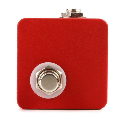 JHS Red Remote Switch Latching Footswitch Guitar Effects Pedal Accessory , Pedals, JHS, Texas Guitar Ranch - Texas Guitar Ranch