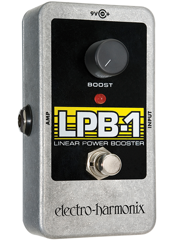 Electro-Harmonix LPB-1 Linear Power Booster Preamp EHX Guitar Effects Pedal , Pedals, Electro-Harmonix, Texas Guitar Ranch - Texas Guitar Ranch