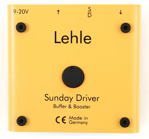 Lehle Sunday Driver Buffer and Booster Guitar Effects Pedal