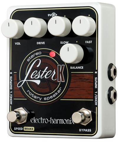 Electro-Harmonix Lester K Stereo Rotary Speaker Effect For Keyboard EHX Guitar Effects Pedal