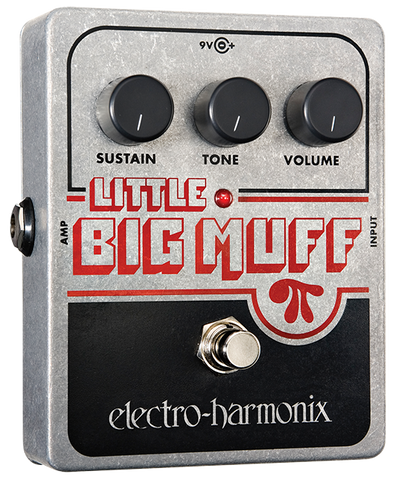 Electro-Harmonix Little Big Muff Pi Distortion Sustainer EHX Guitar Effects Pedal