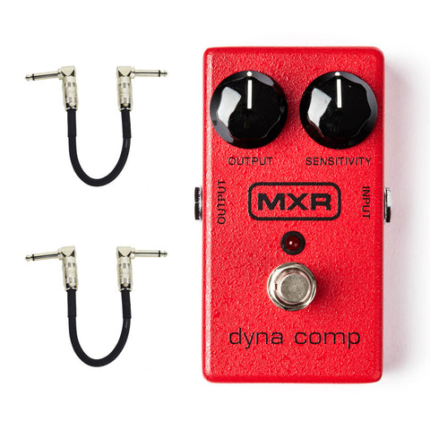 MXR M102 Dyna Comp Compressor with Free Patch Cables