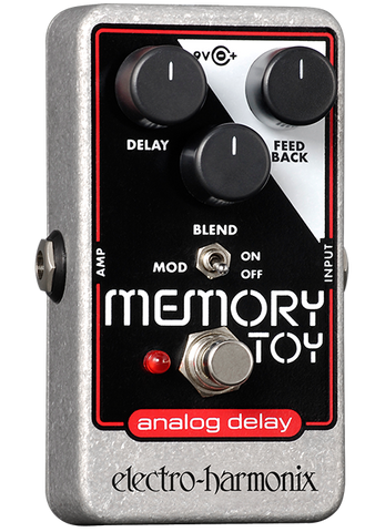 Electro-Harmonix Memory Toy Analog Delay With Modulation EHX Guitar Effects Pedal , Pedals, Electro-Harmonix, Texas Guitar Ranch - Texas Guitar Ranch