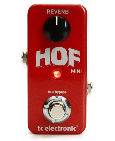 TC Electronic Hall Of Fame Mini Reverb with TonePrint Guitar Effects Pedal , Pedals, TC Electronic, Texas Guitar Ranch - Texas Guitar Ranch