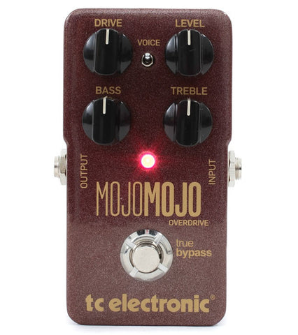 TC Electronic Mojo Mojo Overdrive Guitar Effects Pedal , Pedals, TC Electronic, Texas Guitar Ranch - Texas Guitar Ranch