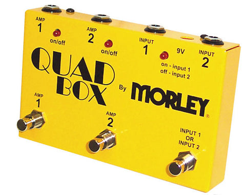 Morley Quad Box Guitar and Amp Switcher , Pedals, Morley, Texas Guitar Ranch - Texas Guitar Ranch