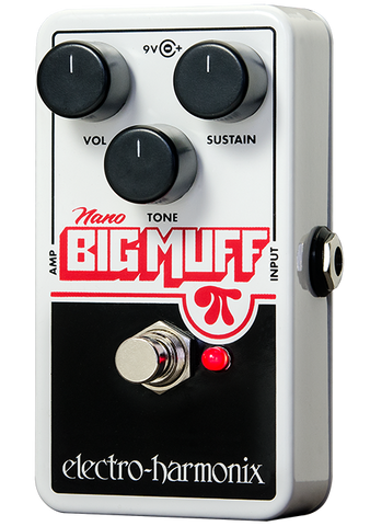 Electro-Harmonix Nano Big Muff Pi Distortion Sustainer EHX Guitar Effects Pedal , Pedals, Electro-Harmonix, Texas Guitar Ranch - Texas Guitar Ranch