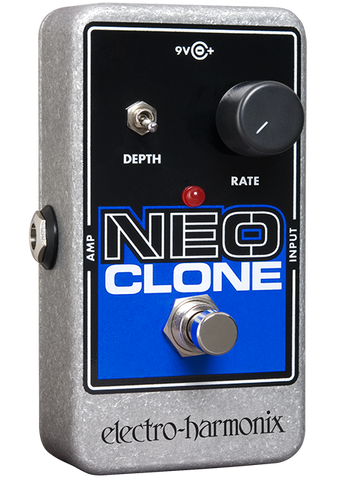 Electro-Harmonix Neo Clone Analog Chorus EHX Guitar Effects Pedal , Pedals, Electro-Harmonix, Texas Guitar Ranch - Texas Guitar Ranch