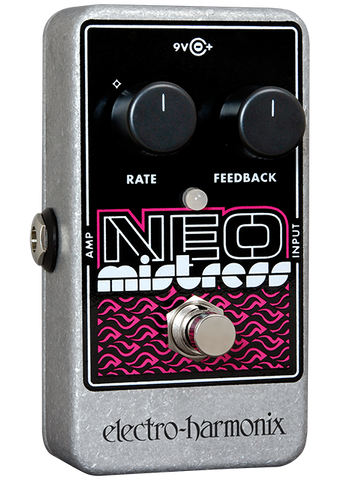 Electro-Harmonix Neo Mistress Flanger EHX Guitar Effects Pedal , Pedals, Electro-Harmonix, Texas Guitar Ranch - Texas Guitar Ranch