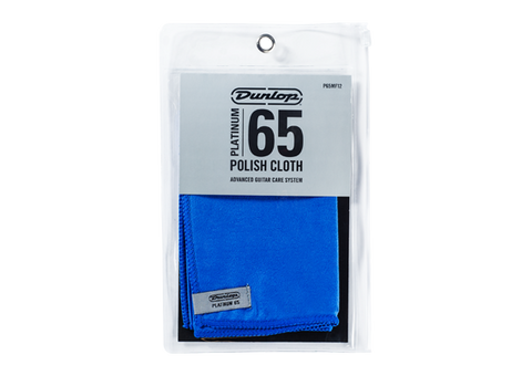Dunlop Platinum 65 Polish Cloth , Accessories, Dunlop, Texas Guitar Ranch - Texas Guitar Ranch