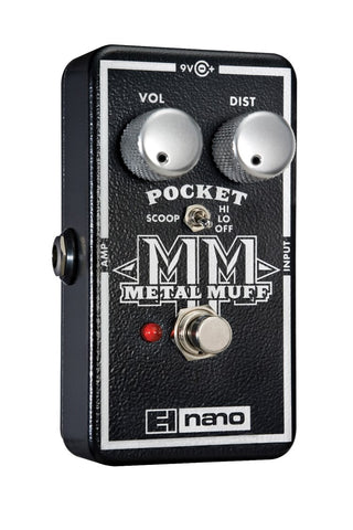 Electro-Harmonix Pocket Metal Muff Distortion with Mid Scoop EHX Guitar Effects Pedal