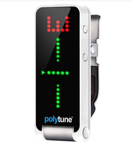 TC Electronic PolyTune Clip - Clip-on Polyphonic Tuner , Pedals, TC Electronic, Texas Guitar Ranch - Texas Guitar Ranch