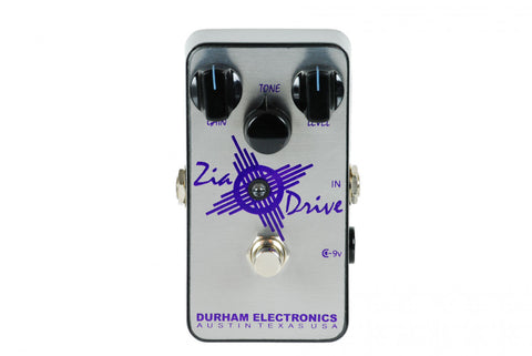 Durham Electronics Zia Drive Overdrive Guitar Effects Pedal , Pedals, Durham Electronics, Texas Guitar Ranch - Texas Guitar Ranch