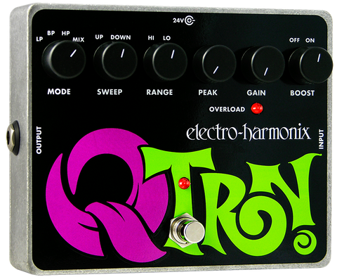 Electro-Harmonix Q-Tron Envelope Filter Guitar EHX Guitar Effects Pedal , Pedals, Electro-Harmonix, Texas Guitar Ranch - Texas Guitar Ranch