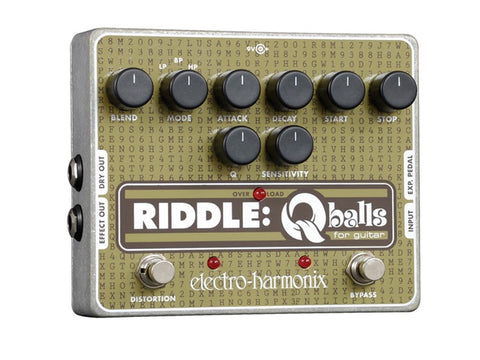 Electro-Harmonix Riddle Q-Balls Envelope Filter for Guitar EHX Guitar Effects Pedal , Pedals, Electro-Harmonix, Texas Guitar Ranch - Texas Guitar Ranch