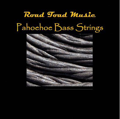 5-String Road Toad Pahoehoe U-Bass Strings , Strings, Road Toad Music, Texas Guitar Ranch - Texas Guitar Ranch