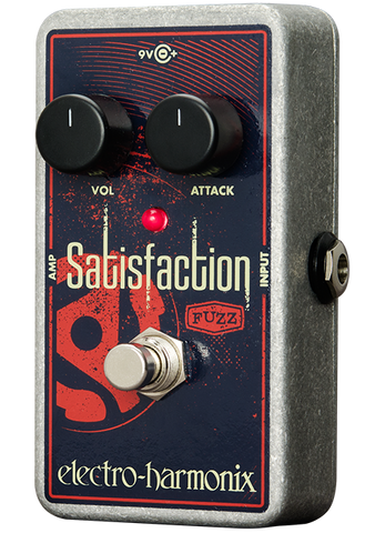 Electro-Harmonix Satisfaction Fuzz EHX Guitar Effects Pedal , Pedals, Electro-Harmonix, Texas Guitar Ranch - Texas Guitar Ranch