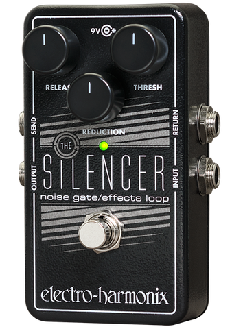 Electro-Harmonix Silencer Noise Gate Effects Loop EHX Guitar Effects Pedal , Pedals, Electro-Harmonix, Texas Guitar Ranch - Texas Guitar Ranch