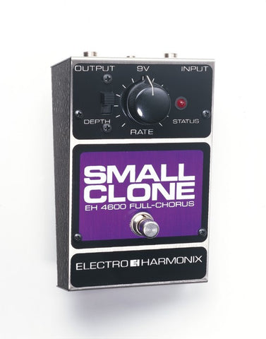 Electro-Harmonix Small Clone Analog Chorus EHX Guitar Effects Pedal , Pedals, Electro-Harmonix, Texas Guitar Ranch - Texas Guitar Ranch