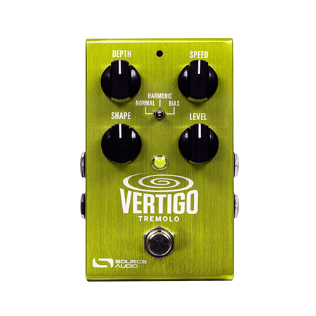 Source Audio SA243 Vertigo Tremolo Guitar Effects Pedal