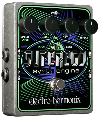 Electro-Harmonix Superego Synth Engine EHX Guitar Effects Pedal , Pedals, Electro-Harmonix, Texas Guitar Ranch - Texas Guitar Ranch