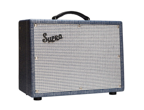 Supro 1622RT Tremo-Verb - 1x10 25W Guitar Tube Combo Amp , Amps, Supro, Texas Guitar Ranch - Texas Guitar Ranch