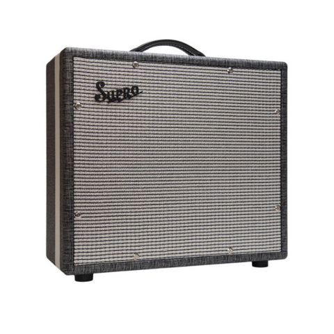 Supro 1700 Supreme-Comet 1x12 Guitar Extension Cabinet , Amps, Supro, Texas Guitar Ranch - Texas Guitar Ranch