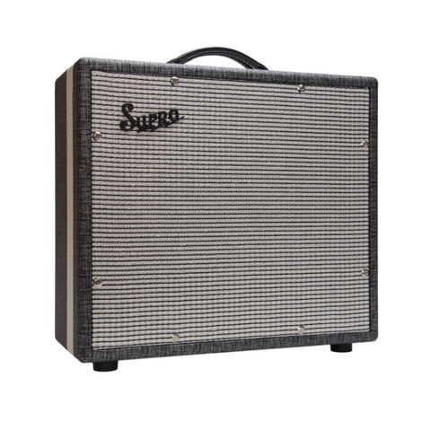 Supro 1790 1x12 Black Magick Guitar Extension Cabinet , Amps, Supro, Texas Guitar Ranch - Texas Guitar Ranch