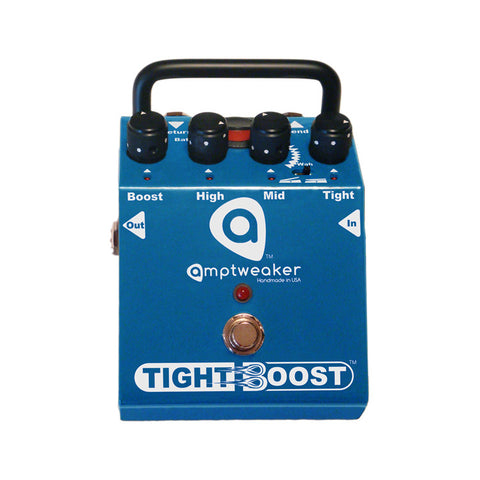 Amptweaker Tight Boost Clean Boost Guitar Effects Pedal , Pedals, Amptweaker, Texas Guitar Ranch - Texas Guitar Ranch