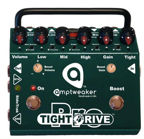 Amptweaker TightDrive Pro Overdrive Tight Drive Guitar Effects Pedal