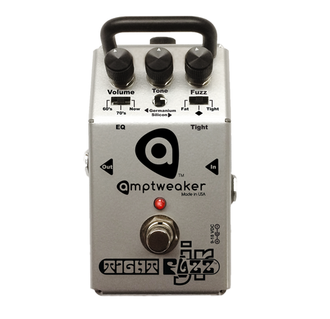 Amptweaker TightFuzz Jr Tight Fuzz Jr Guitar Effects Pedal , Pedals, Amptweaker, Texas Guitar Ranch - Texas Guitar Ranch