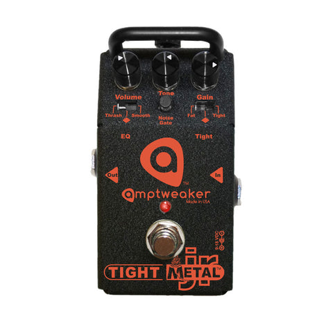 Amptweaker Tight Metal Jr Distortion Guitar Effects Pedal , Pedals, Amptweaker, Texas Guitar Ranch - Texas Guitar Ranch