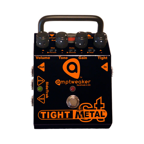 Amptweaker Tight Metal ST Distortion Guitar Effects Pedal , Pedals, Amptweaker, Texas Guitar Ranch - Texas Guitar Ranch