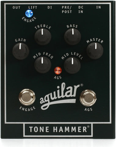Aguilar Tone Hammer Preamp / Direct Box , Pedals, Aguilar, Texas Guitar Ranch - Texas Guitar Ranch